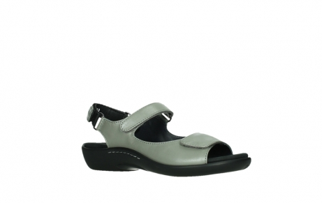 wolky sandalen 01300 salvia 87130 silver grey pearl leather_3