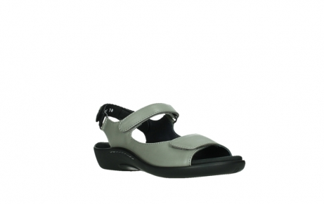 wolky sandalen 01300 salvia 87130 silver grey pearl leather_4