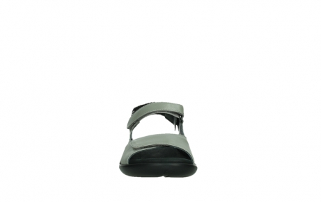 wolky sandalen 01300 salvia 87130 silver grey pearl leather_7