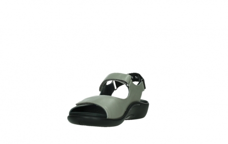 wolky sandalen 01300 salvia 87130 silver grey pearl leather_9