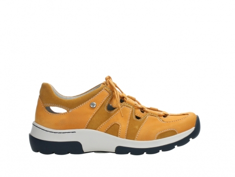 wolky lace up shoes 03028 nortec 11550 orange ochre nubuck_1