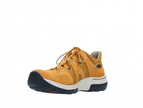 wolky lace up shoes 03028 nortec 11550 orange ochre nubuck_10