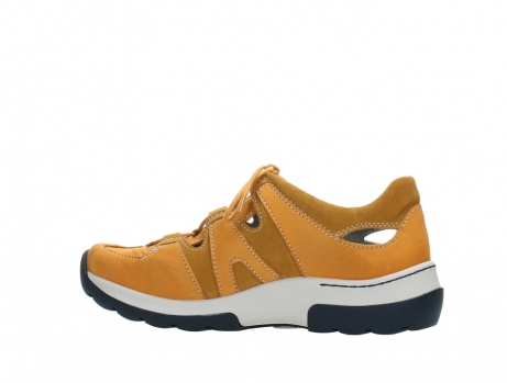 wolky lace up shoes 03028 nortec 11550 orange ochre nubuck_14