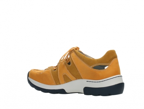 wolky lace up shoes 03028 nortec 11550 orange ochre nubuck_15