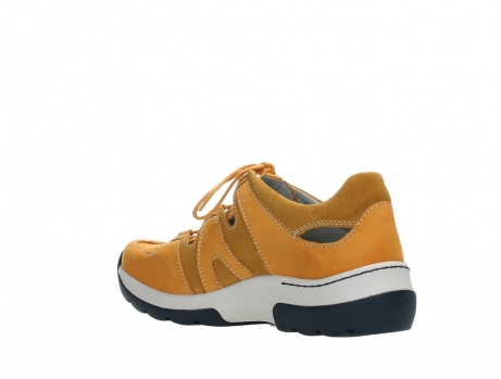 wolky lace up shoes 03028 nortec 11550 orange ochre nubuck_16