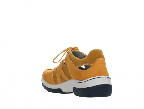 wolky lace up shoes 03028 nortec 11550 orange ochre nubuck_17