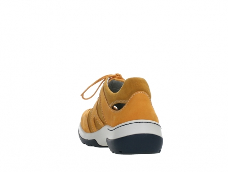 wolky lace up shoes 03028 nortec 11550 orange ochre nubuck_18