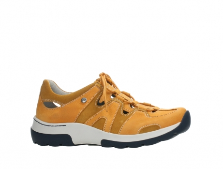 wolky lace up shoes 03028 nortec 11550 orange ochre nubuck_2