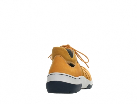 wolky lace up shoes 03028 nortec 11550 orange ochre nubuck_20