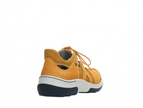 wolky lace up shoes 03028 nortec 11550 orange ochre nubuck_21