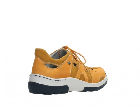 wolky lace up shoes 03028 nortec 11550 orange ochre nubuck_22