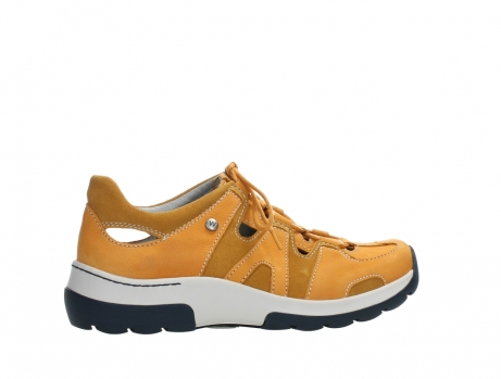 wolky lace up shoes 03028 nortec 11550 orange ochre nubuck_24