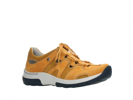 wolky lace up shoes 03028 nortec 11550 orange ochre nubuck_3
