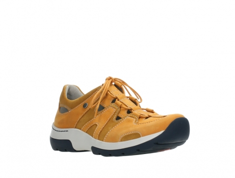 wolky lace up shoes 03028 nortec 11550 orange ochre nubuck_4