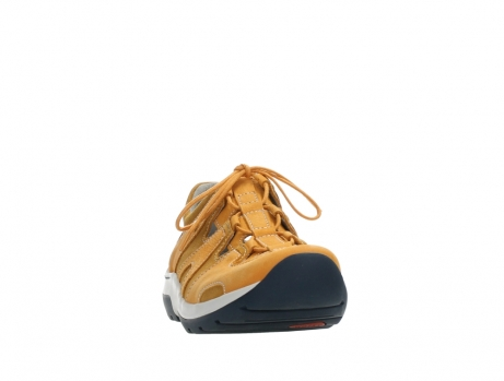 wolky lace up shoes 03028 nortec 11550 orange ochre nubuck_6