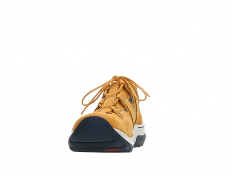 wolky lace up shoes 03028 nortec 11550 orange ochre nubuck_8