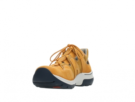 wolky lace up shoes 03028 nortec 11550 orange ochre nubuck_9