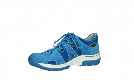wolky lace up shoes 03028 nortec 11865 royal blue nubuck_11