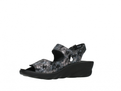 wolky sandalen 03125 scala 48000 black printed suede_11