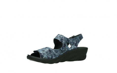 wolky sandalen 03125 scala 48800 blue printed suede_11