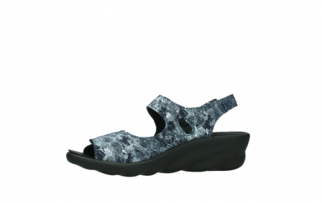 wolky sandalen 03125 scala 48800 blue printed suede_12