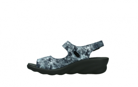 wolky sandalen 03125 scala 48800 blue printed suede_13