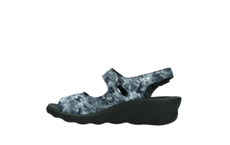 wolky sandalen 03125 scala 48800 blue printed suede_14