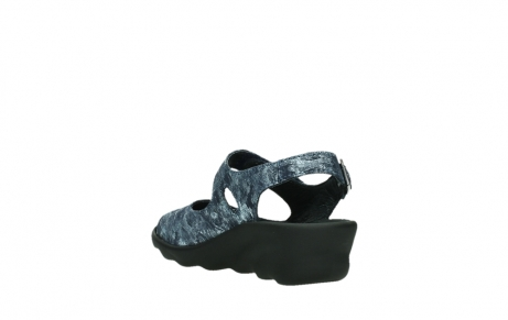 wolky sandalen 03125 scala 48800 blue printed suede_17