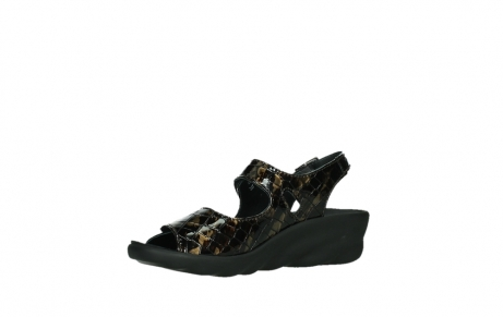 wolky sandalen 03125 scala 69320 bronze croco patent leather_11