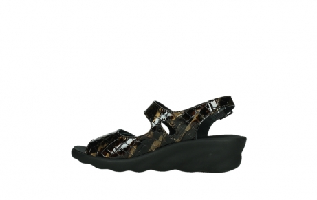 wolky sandalen 03125 scala 69320 bronze croco patent leather_14