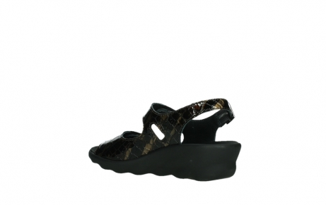 wolky sandalen 03125 scala 69320 bronze croco patent leather_16