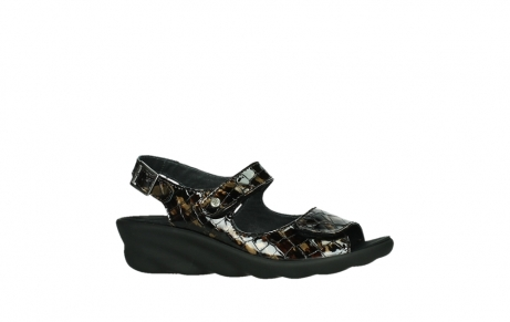 wolky sandalen 03125 scala 69320 bronze croco patent leather_2