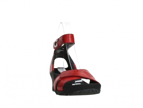 wolky sandalen 03776 era 20500 red leather_6