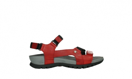 wolky sandalen 05450 cradle 30500 red leather_1