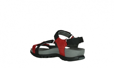 wolky sandalen 05450 cradle 30500 red leather_16