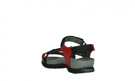 wolky sandalen 05450 cradle 30500 red leather_17