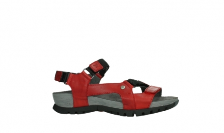 wolky sandalen 05450 cradle 30500 red leather_2