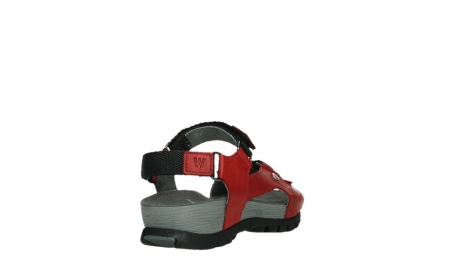 wolky sandalen 05450 cradle 30500 red leather_21