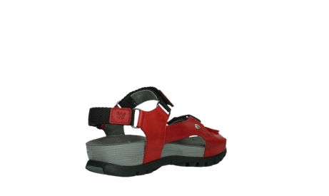 wolky sandalen 05450 cradle 30500 red leather_22