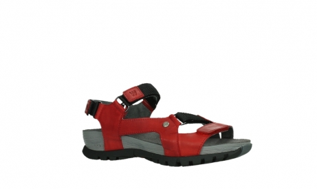 wolky sandalen 05450 cradle 30500 red leather_3
