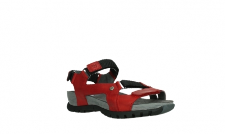 wolky sandalen 05450 cradle 30500 red leather_4