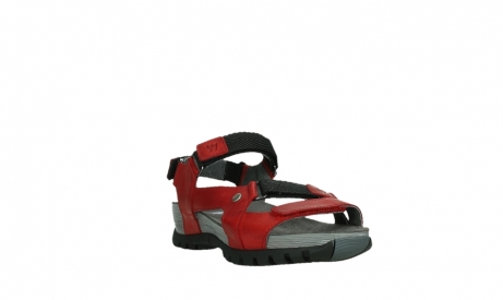 wolky sandalen 05450 cradle 30500 red leather_5