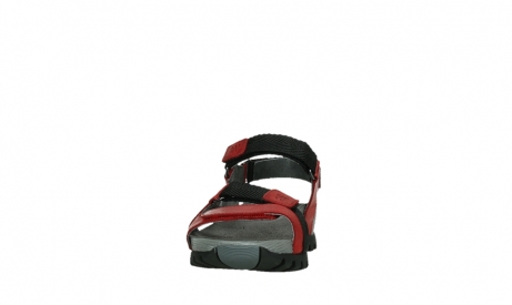 wolky sandalen 05450 cradle 30500 red leather_8