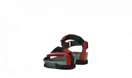wolky sandalen 05450 cradle 30500 red leather_9