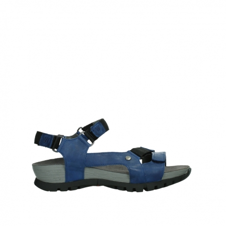 wolky sandalen 05450 cradle 30840 jeansblue leather