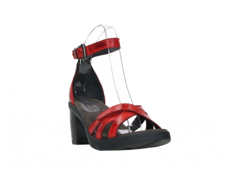 wolky sandalen 07425 exit 20500 red leather_5