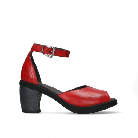 wolky sandalen 07426 jam 20500 red leather