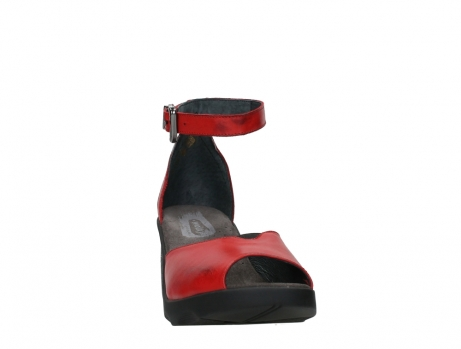 wolky sandalen 07426 jam 20500 red leather_6