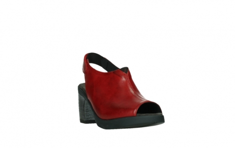wolky sandalen 07427 tailback 20500 red leather_5