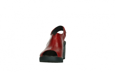 wolky sandalen 07427 tailback 20500 red leather_8